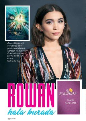 Rowan Blanchard - Hey Girl Magazine (April 2018)