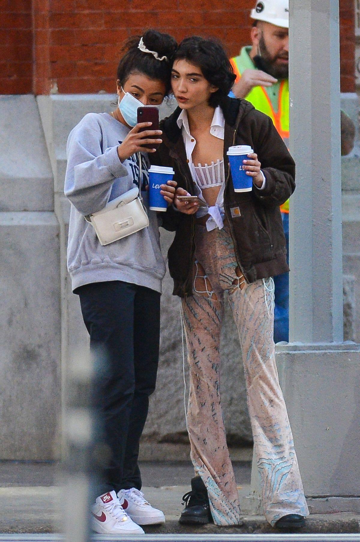 Rowan Blanchard 2020 : Rowan Blanchard – Seen while out in New York-06