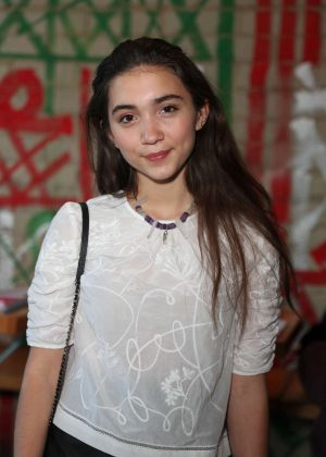 Rowan Blanchard - 'Shelter For All' Campaign Event in Los Angeles