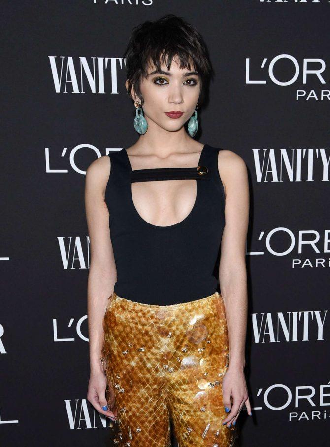 Rowan Blanchard - Vanity Fair and L'Oreal Paris Celebrate New Hollywood in LA