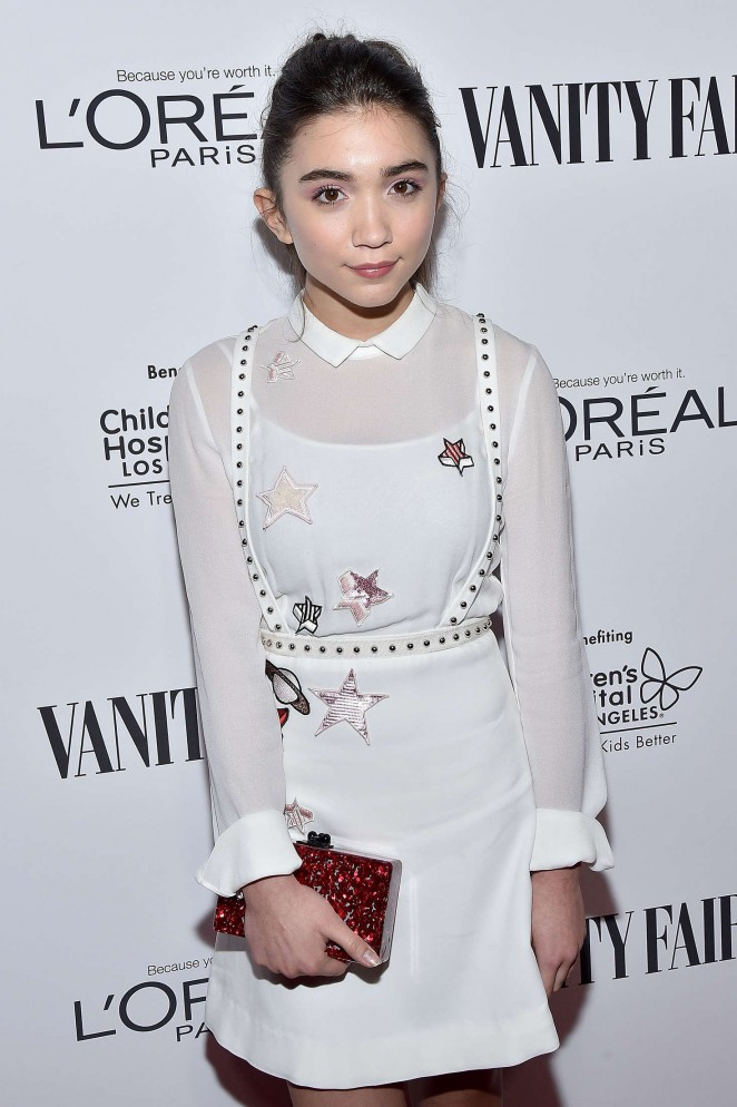 Rowan Blanchard - Vanity Fair L'Oreal Paris and Hailee Steinfeld host DJ Night in West Hollywood