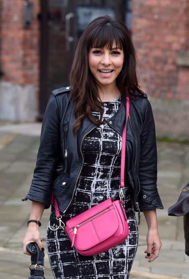 Roxanne Pallett - Leaving Key 103 Radio Station in Manchester