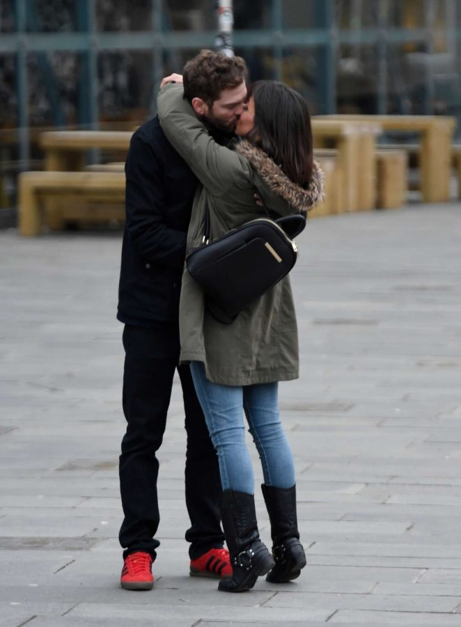 Roxanne Pallett on a date in Manchester