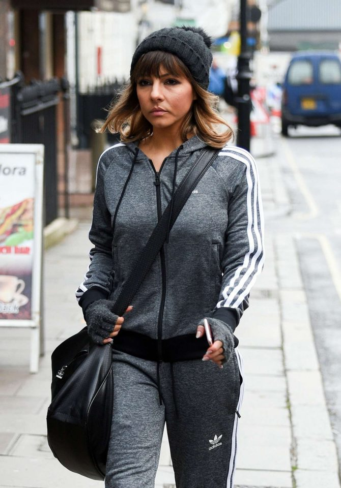 Roxanne Pallett – Out in Manchester