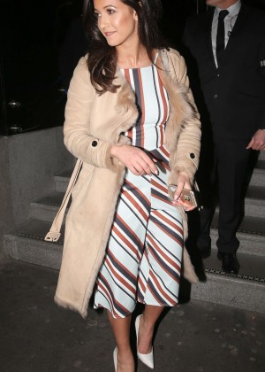Roxie Nafousi at the launch of 100 Wardour Street in London