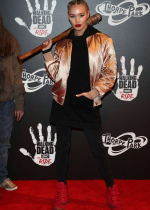 Roxy Horner - 'The Walking Dead Ride' Launch in London
