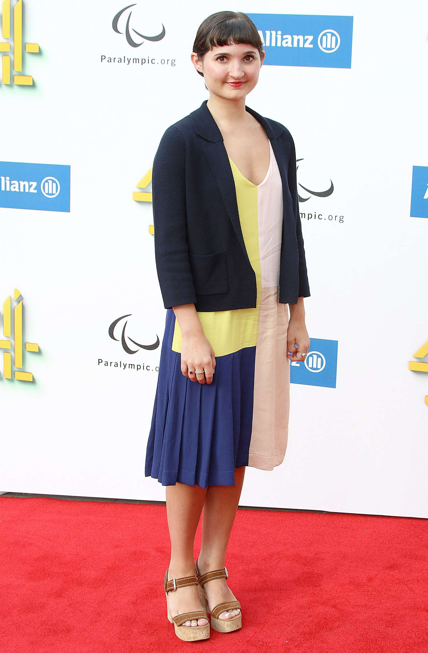 Ruby Bentall Channel 4 Red Carpet Paralympic Launch In
