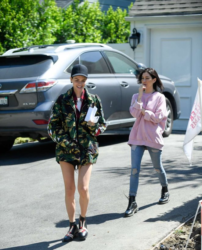 Ruby Rose and Jess Origliasso out in Los Angeles