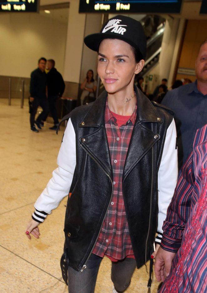 Ruby Rose arrives in Sydney