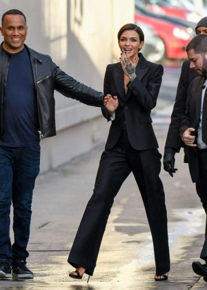 Ruby Rose - Arriving at Jimmy Kimmel Live! in Los Angeles