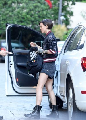 Ruby Rose at the Four Seasons in Beverly Hills
