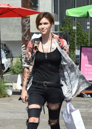 Ruby Rose out in Los Angeles
