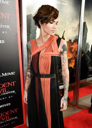 Ruby Rose - 'Resident Evil: The Final Chapter' Premiere in Los Angeles