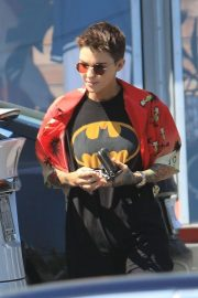 Ruby Rose - Seen while leaves workout session