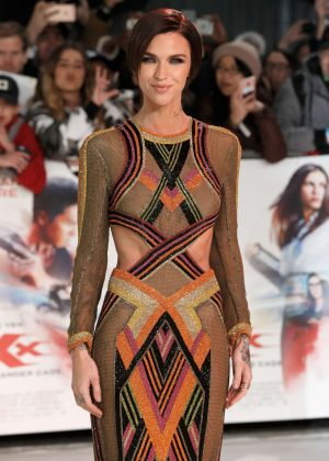 Ruby Rose - 'xXx': Return of Xander Cage' Premiere in London
