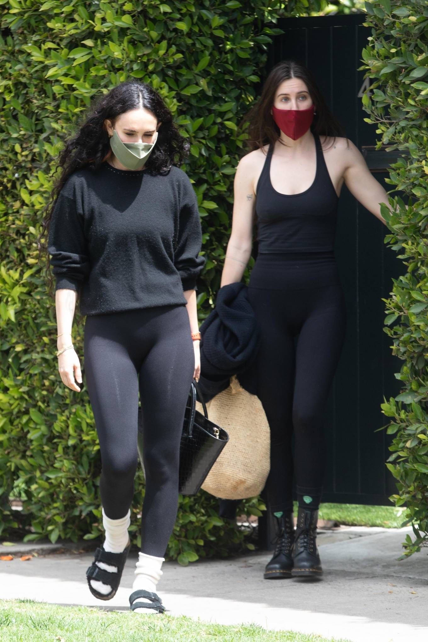Rumer Willis 2021 : Rumer and Scout Willis – Out for a pilates session in West Hollywood-06