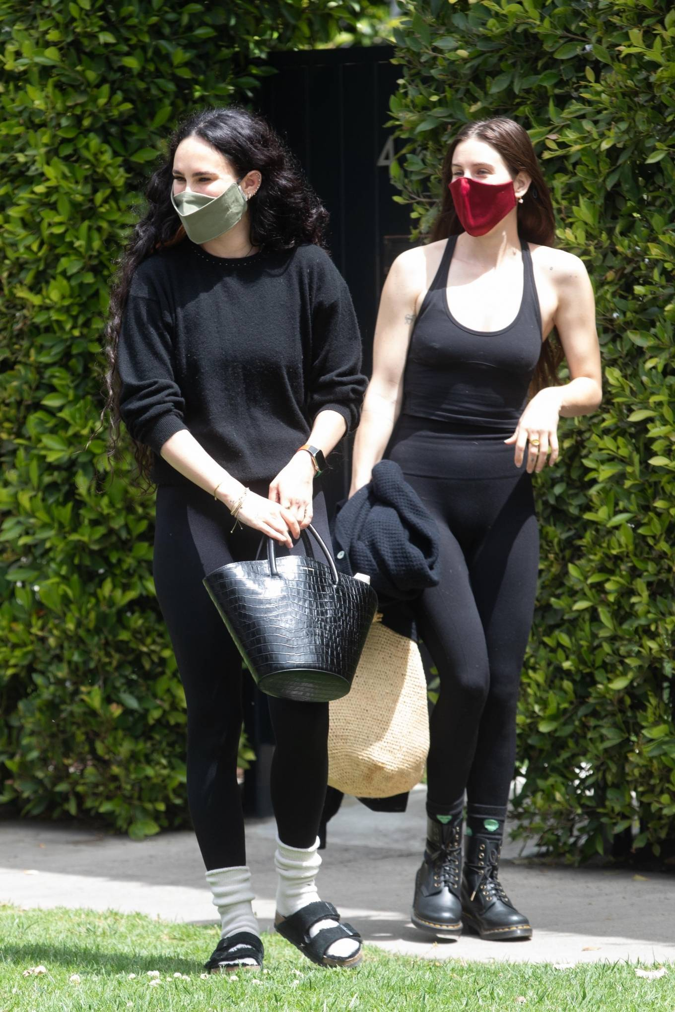Rumer Willis 2021 : Rumer and Scout Willis – Out for a pilates session in West Hollywood-15