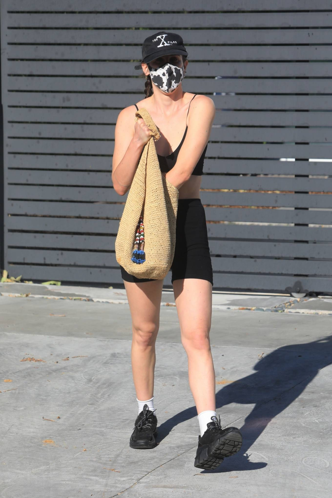 Rumer Willis 2021 : Rumer and Scout Willis – Spotted after a pilates class in West Hollywood-01