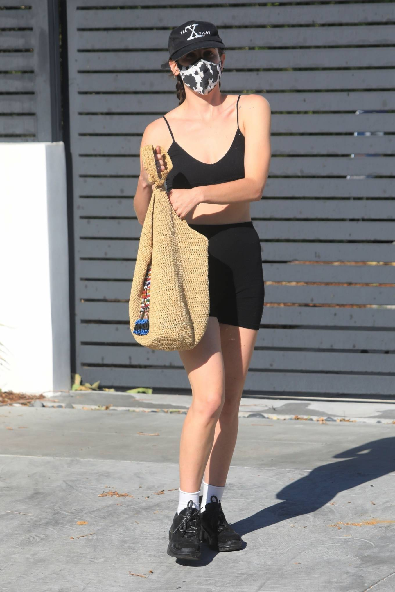 Rumer Willis 2021 : Rumer and Scout Willis – Spotted after a pilates class in West Hollywood-06