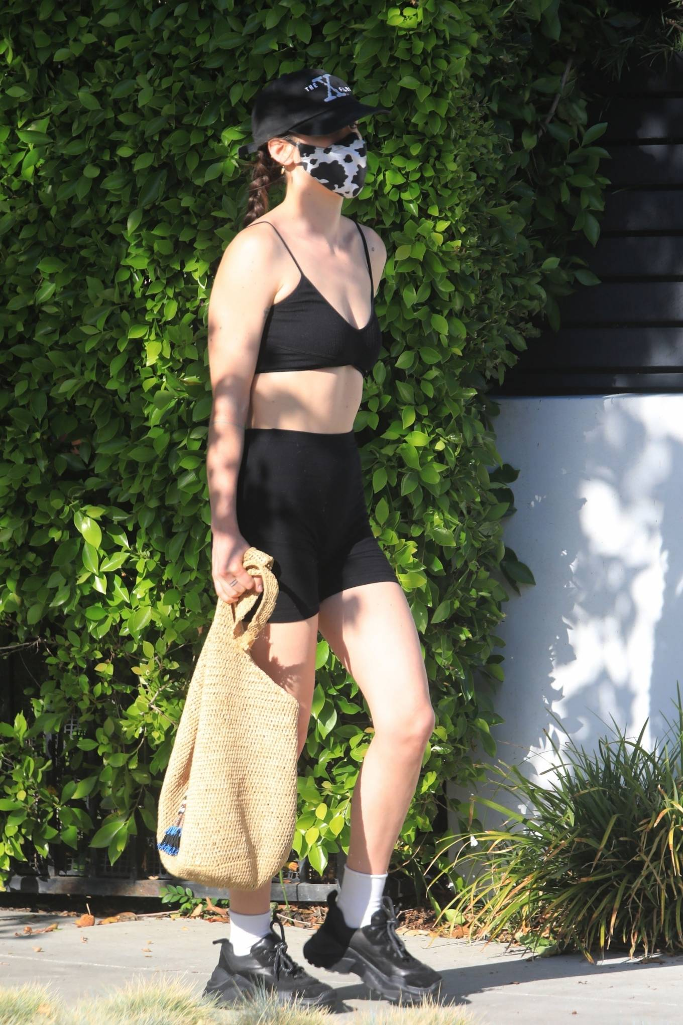 Rumer Willis 2021 : Rumer and Scout Willis – Spotted after a pilates class in West Hollywood-07