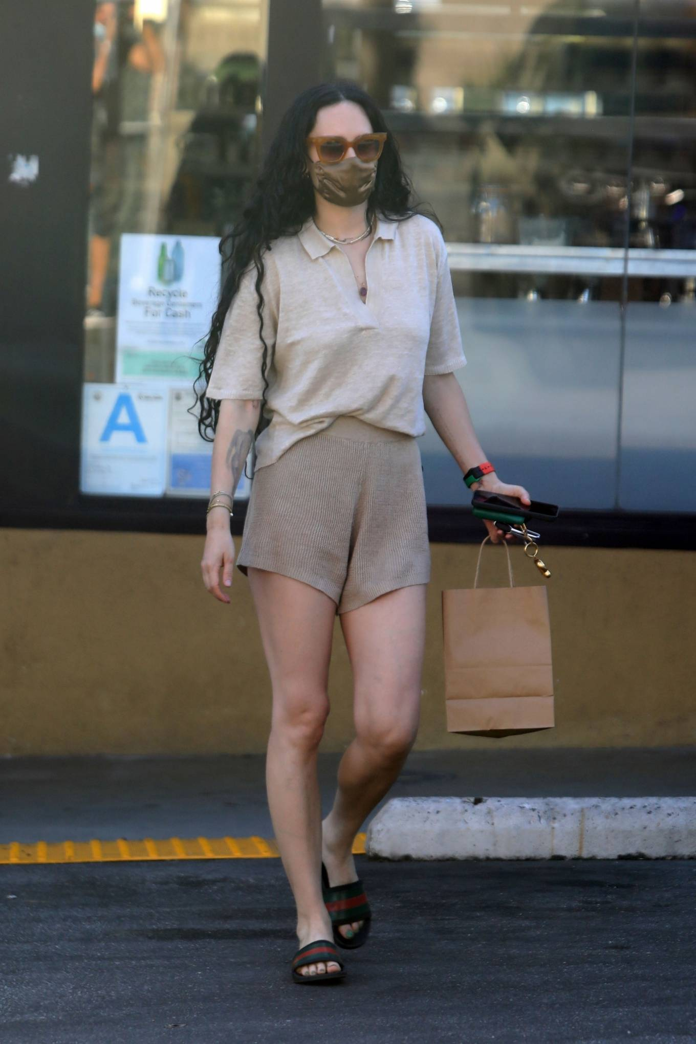 Rumer Willis 2021 : Rumer and Scout Willis – Spotted after a pilates class in West Hollywood-20
