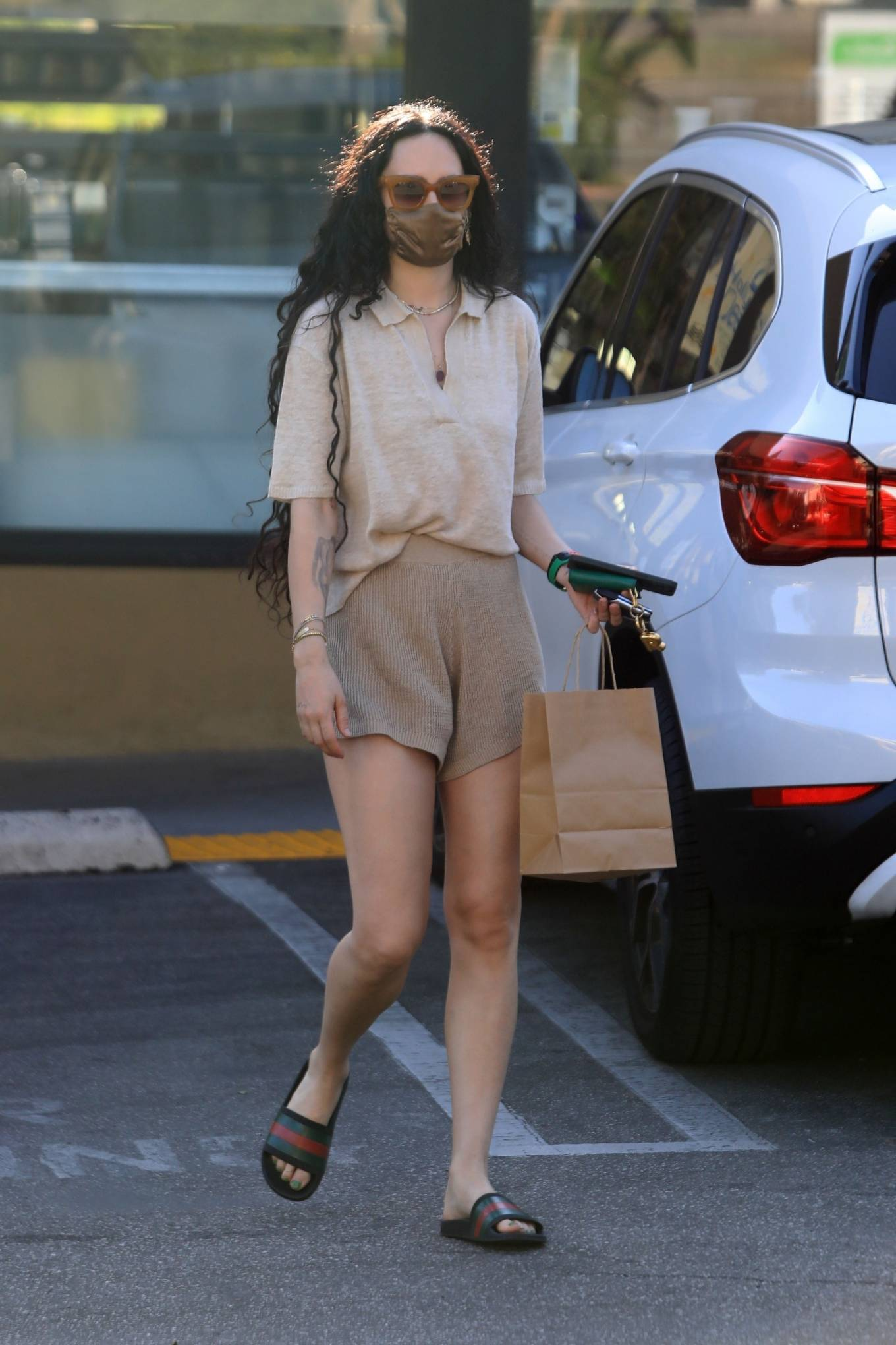 Rumer Willis 2021 : Rumer and Scout Willis – Spotted after a pilates class in West Hollywood-28