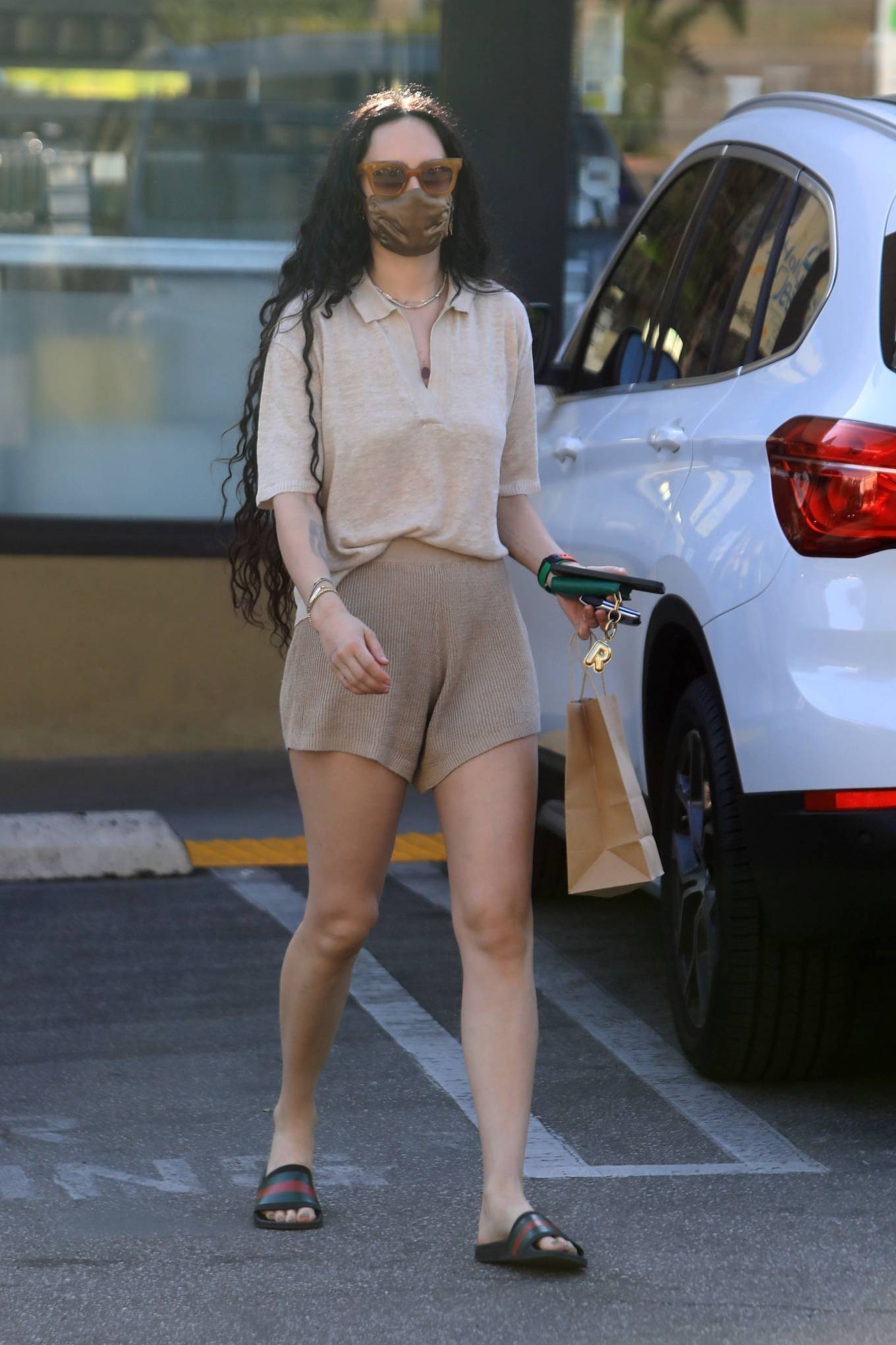 Rumer Willis 2021 : Rumer and Scout Willis – Spotted after a pilates class in West Hollywood-35