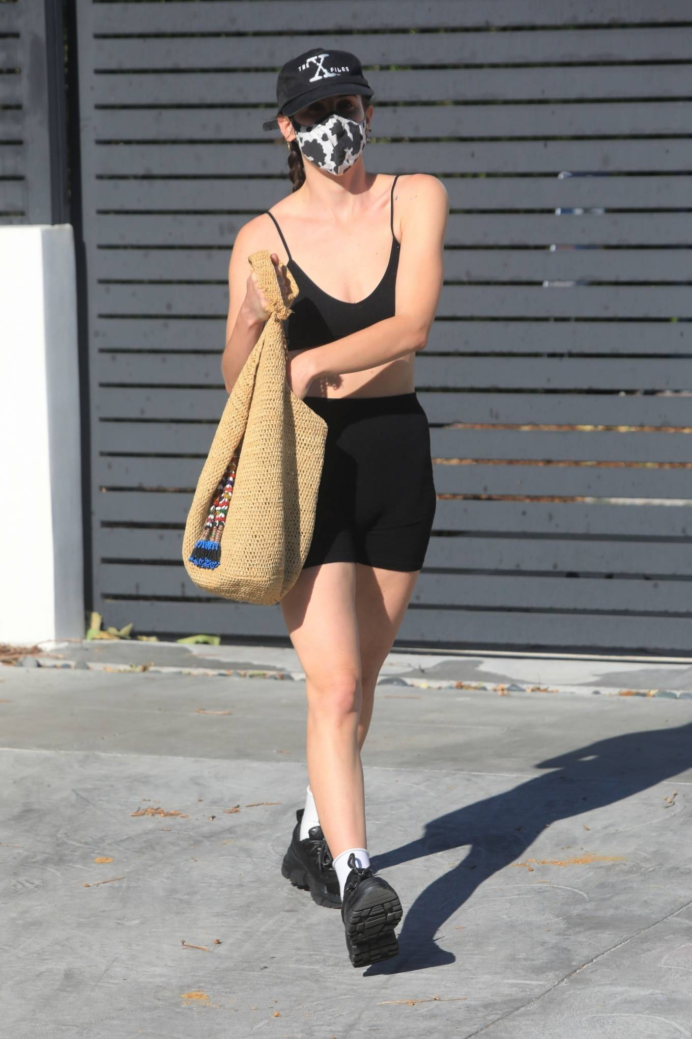 Rumer Willis 2021 : Rumer and Scout Willis – Spotted after a pilates class in West Hollywood-42