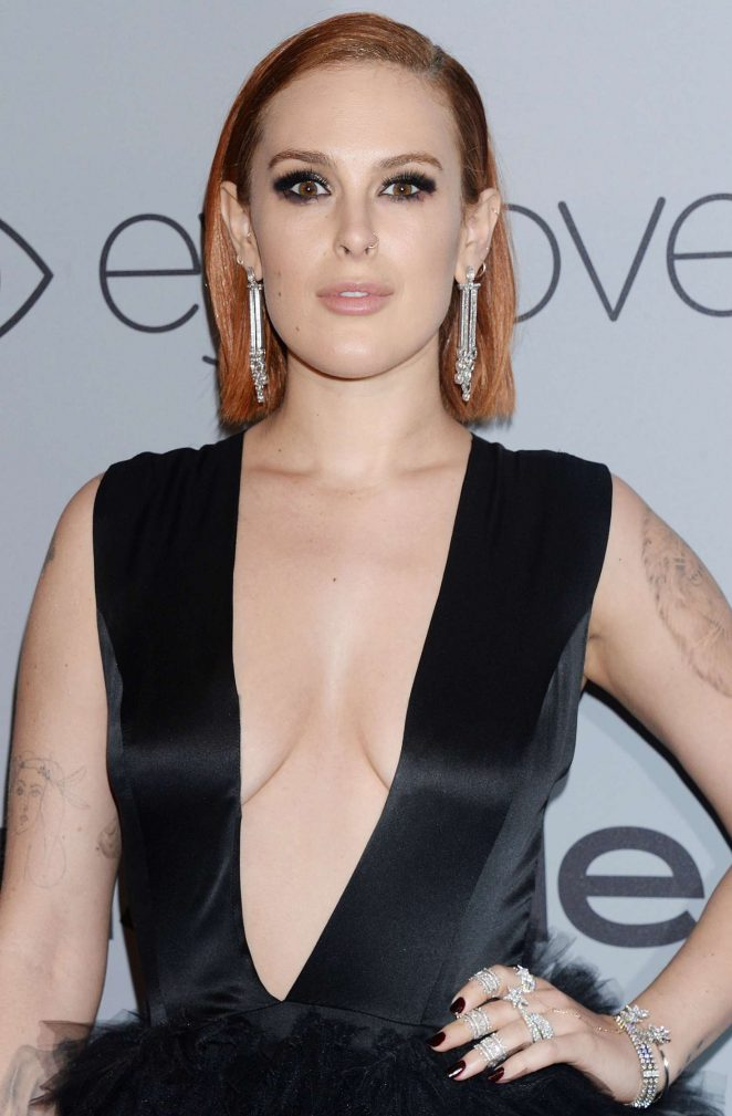 Rumer Willis - 2018 InStyle and Warner Bros Golden Globes After Party in LA