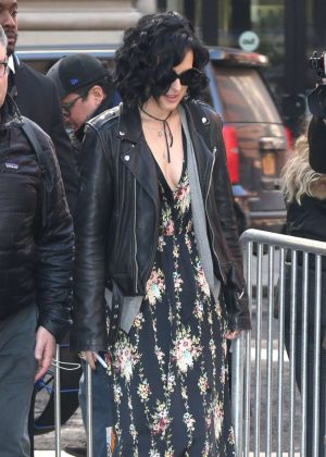 Rumer Willis Arrives at AOL Build in New York