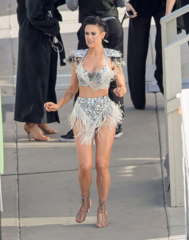 Rumer Willis at Dancing with the Stars in Hollywood