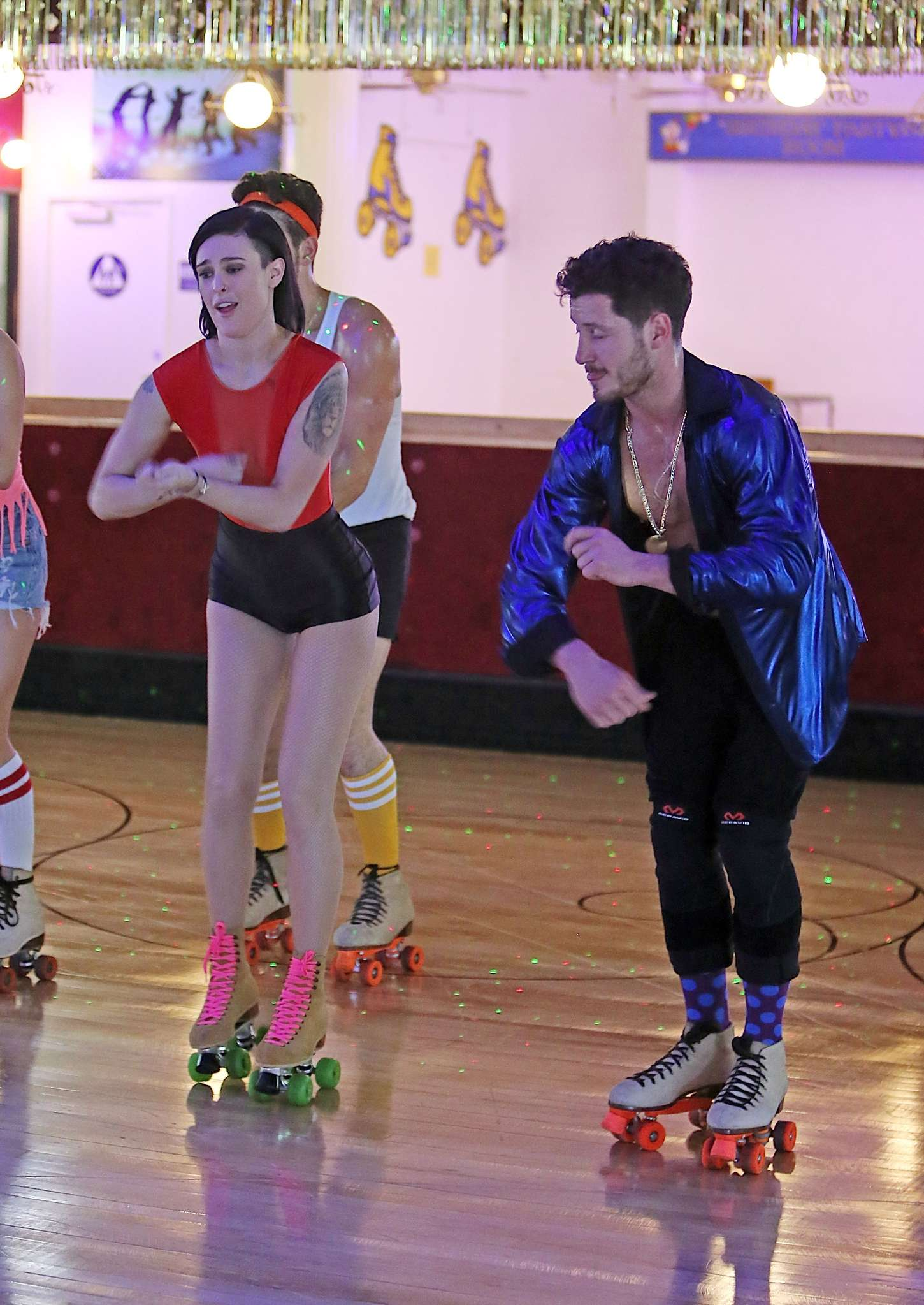 Roller skating rink la