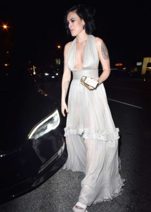 Rumer Willis at Jimmy Kimmel Golden Globe 2017 After Party in LA