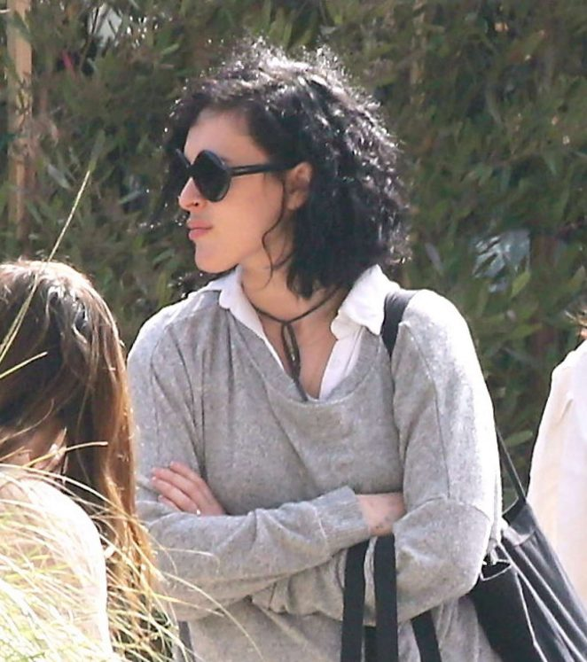 Rumer Willis at Soho House's in Malibu