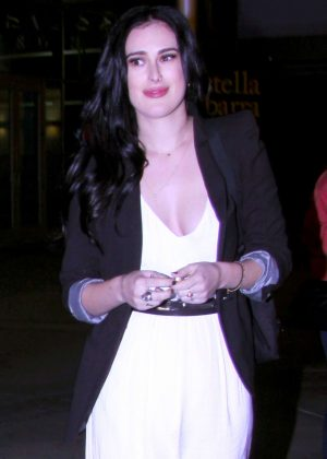 Rumer Willis at the ArcLight theater in Hollywood