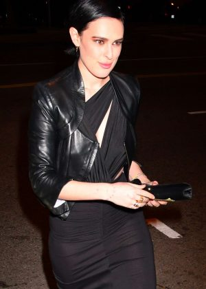 Rumer Willis - Audi Arrivals at W Magazine's Best Performances Party in LA