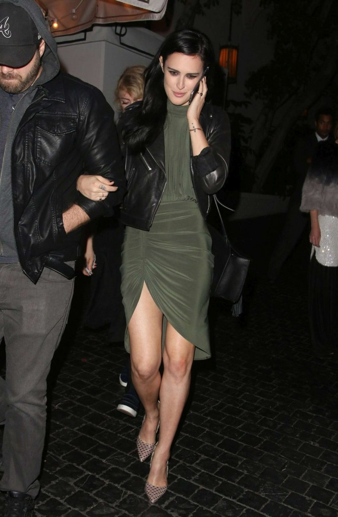 Rumer Willis - Chateau Marmont in West Hollywood