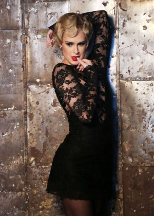 Rumer Willis Chicago On Broadway Photoshoot In Nyc