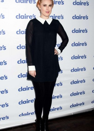 Rumer Willis - Claire's Halloween Party in NY