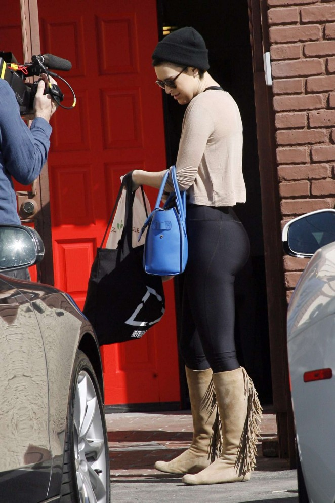 Rumer Willis - Dancing with the Stars Rehearsals in Hollywood