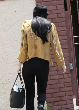 Rumer Willis in Jeans at DWTS -03