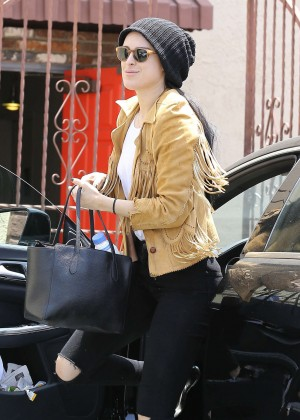 Rumer Willis in Jeans at DWTS -12
