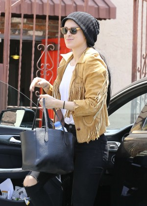 Rumer Willis in Jeans at DWTS -19