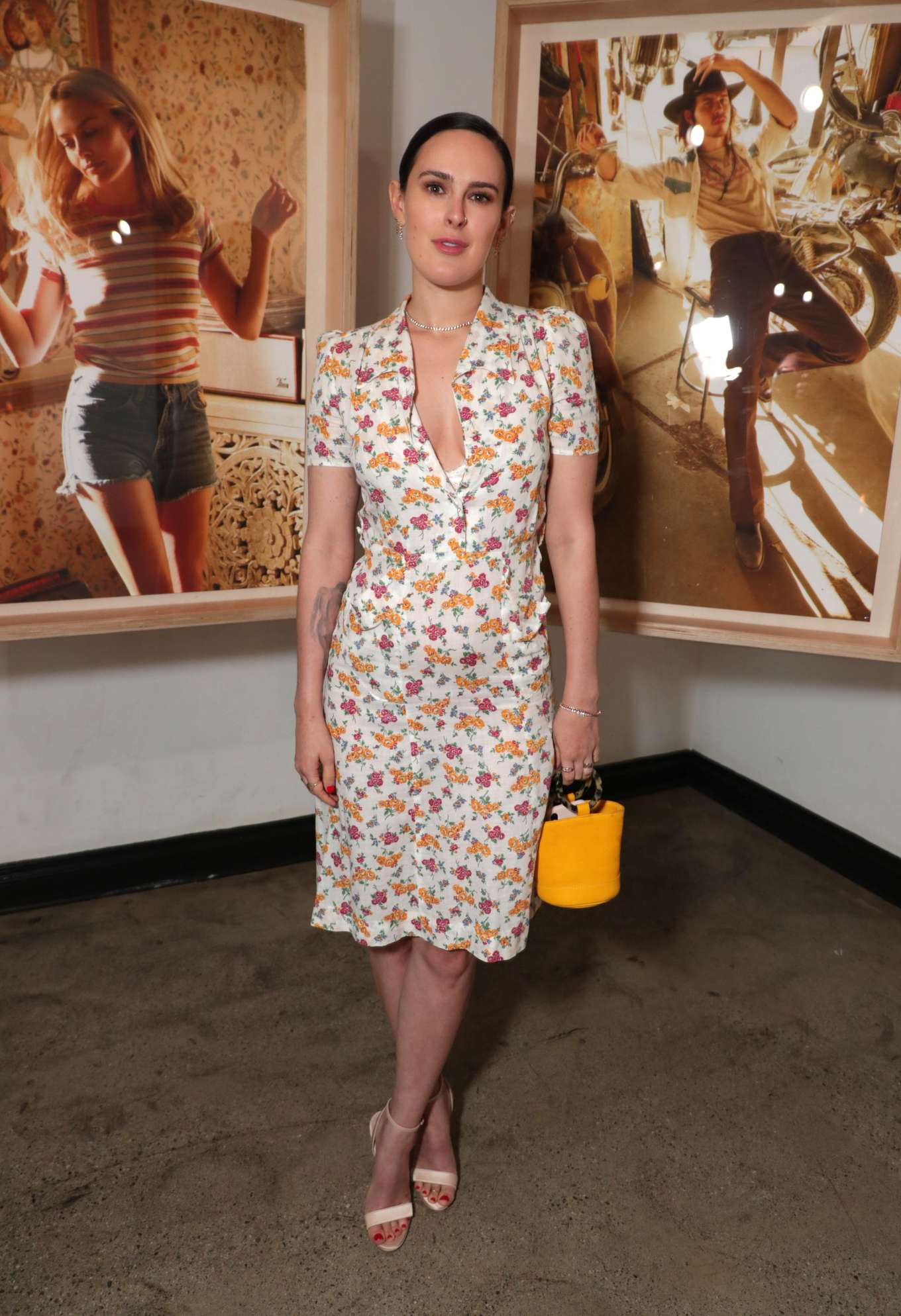 Rumer Willis - Levi's and RAD Dinner hosted by Margot Robbie and Austin Butler in LA