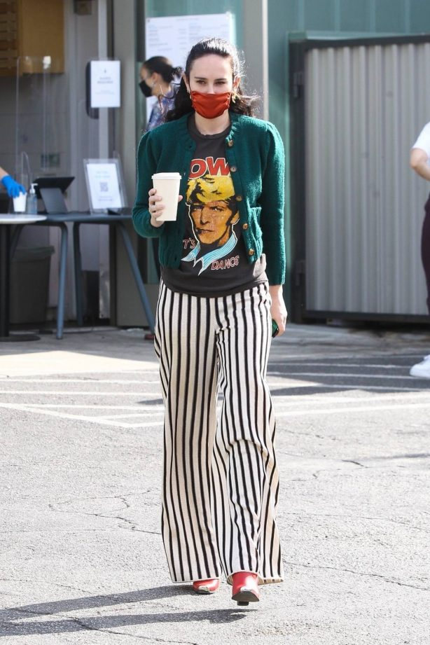 Rumer Willis - Looks pretty while out for a coffee in West Hollywood
