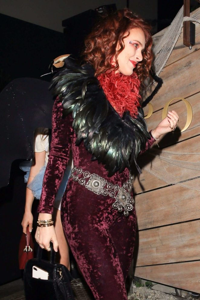 Rumer Willis - Matthew Morrison's 8th Annual Halloween Party in West Hollywood