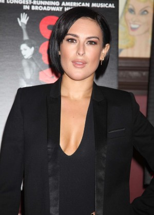 Rumer Willis - Photocall for her Broadway debut in 'Chicago' in NYC