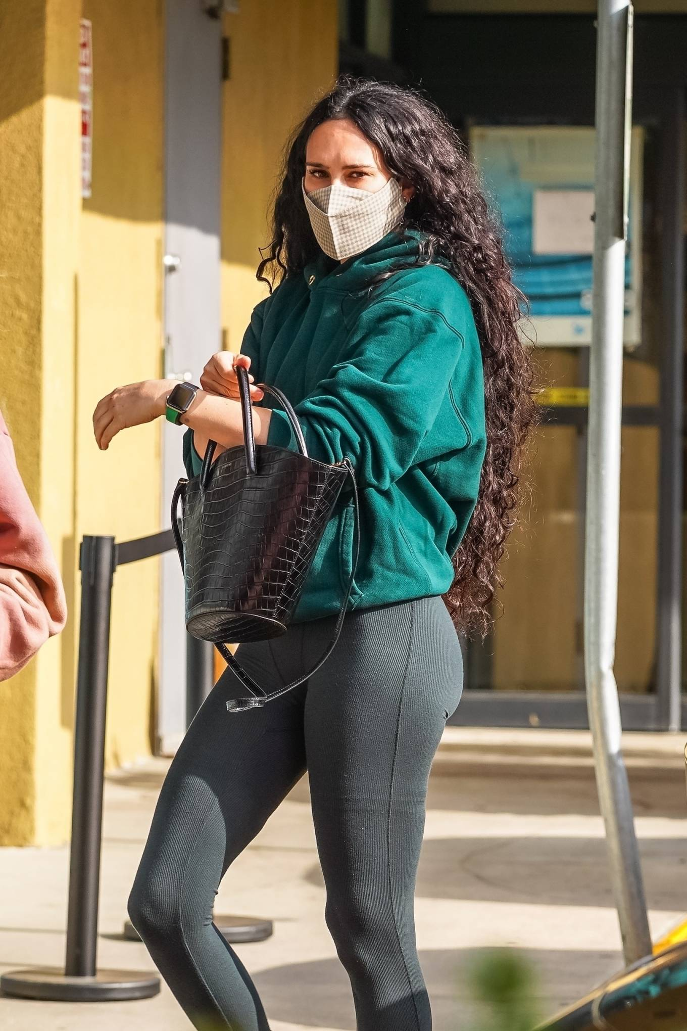 Rumer Willis 2021 : Rumer Willis – Seen after a pilates class in West Hollywood-13