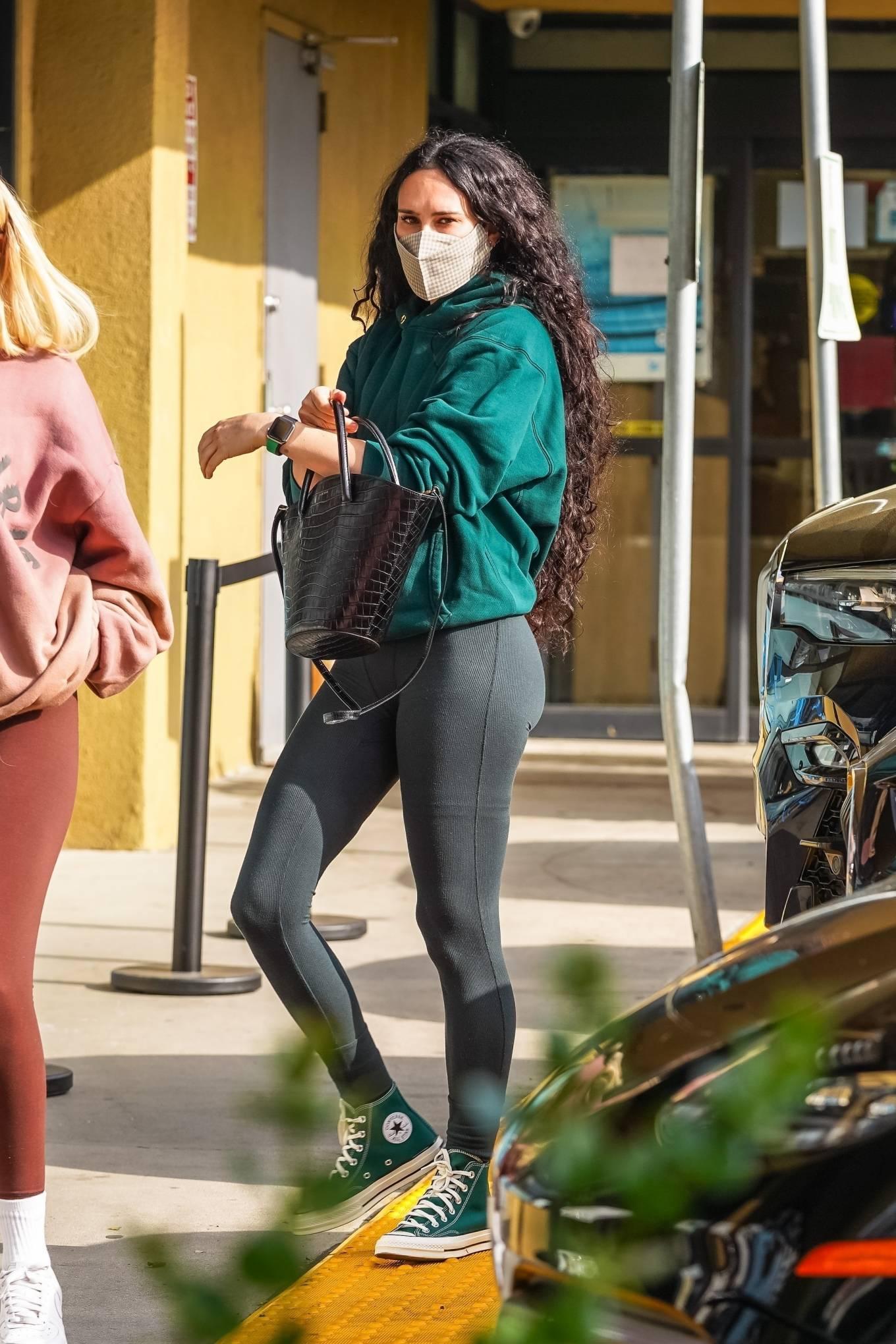 Rumer Willis 2021 : Rumer Willis – Seen after a pilates class in West Hollywood-32