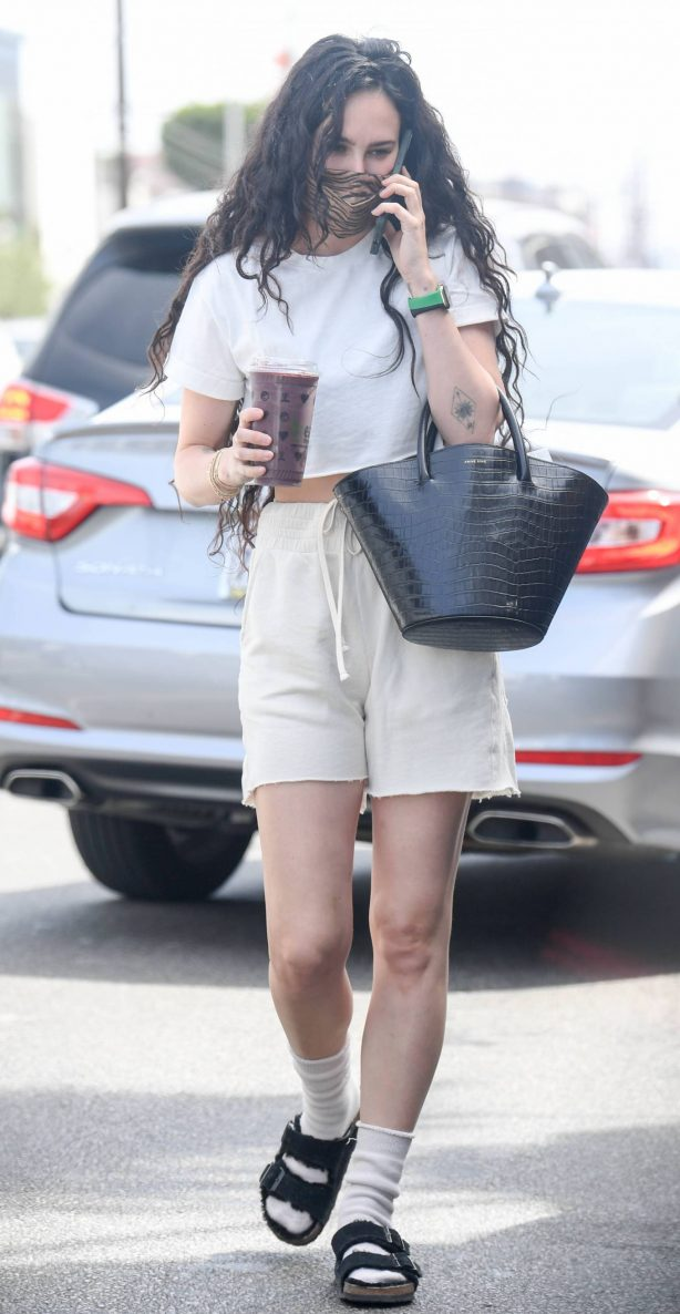Rumer Willis - Seen at Kreation in West Hollywood